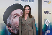 2017-11-05. Amsterdam, DeLaMar Theater. Premiere van de musical Fiddler on the Roof. Op de foto Marie Claire Witlox