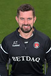 Alastair Thrush, Head of Medical Services, Charlton Athletic.