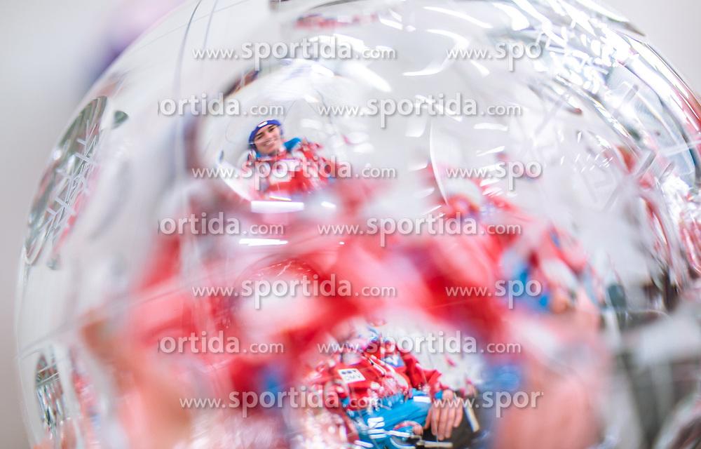 26.03.2017, Planica, Ratece, SLO, FIS Weltcup Ski Sprung, Planica, Fotoshooting, im Bild Gesamtweltcup- und Skiflug Weltcup Sieger Stefan Kraft (AUT) während eines Fotoshootings mit den Kristallkugeln // Overall World Cup and Ski Flying World Cup winner Stefan Kraft of Austria during a photohooting with the crystal globes during a Photoshooting after the FIS Ski Jumping World Cup Final 2017 at Planica in Ratece, Slovenia on 2017/03/26. EXPA Pictures © 2017, PhotoCredit: EXPA/ JFK