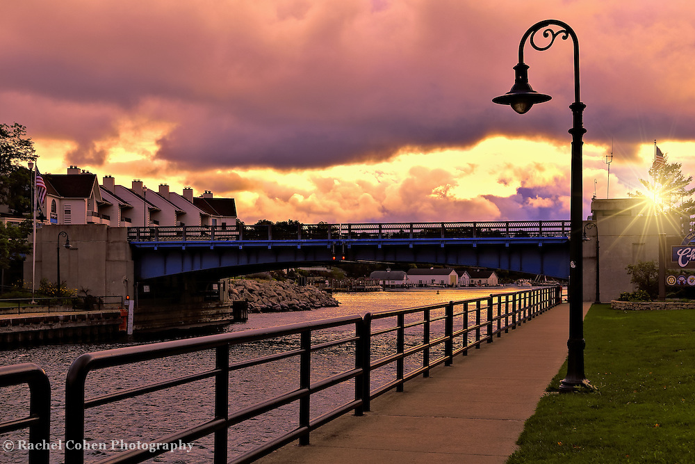 &quot;Drawbridge at Charlevoix&quot;<br />