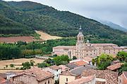 Monasterio de Yuso, Monastery of Yuso in San Millan de la Cogolla, La Rioja, Spain
