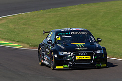 Nicolas Hamilton (brother of two time Formula 1 World Champion Lewis) who lives with cerebral palsy becomes the first disabled driver to take part in the British Touring Car Championship | Free Practice - Mandatory byline: Rogan Thomson/JMP - 07966 386802 - 27/06/2015 - SPORT - MOTORSPORT - North Yorkshire, England - Croft Circuit - BTCC Meeting Day 1.