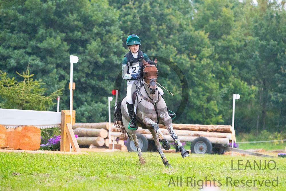 Jennifer Kuehnle - Penyffynon Ricochet<br /> FEI European Championships Ponies 2016<br /> &copy; DigiShots
