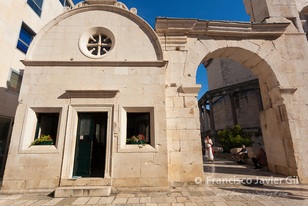 Historic city of Split, Diocletian Palace, Split, Dalmatia, Croatia