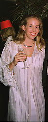LADY MARISA AGAR  at a ball in London on 23rd June 1998.MIS 54 wo