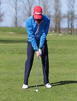 ALKMAAR - Instructie met golfpro Sander van Duijn . COPYRIGHT KOEN SUYK