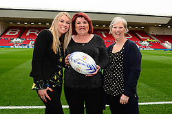 Matchball Sponsor - Mandatory by-line: Dougie Allward/JMP - 13/04/2018 - RUGBY - Ashton Gate Stadium - Bristol, England - Bristol Rugby v Doncaster Knights - Greene King IPA Championship