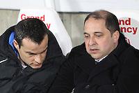 Pablo CORREA / Vincent HOGNON  - 06.03.2015 - Nancy / Laval - 27eme journee de Ligue 2 <br />Photo : Fred Marvaux / Icon Sport