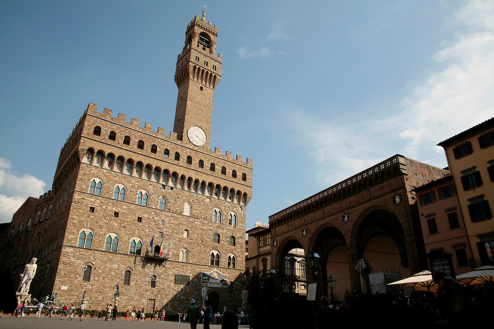 Palazzo Vecchio, Florence, Italy, Florence, Italy