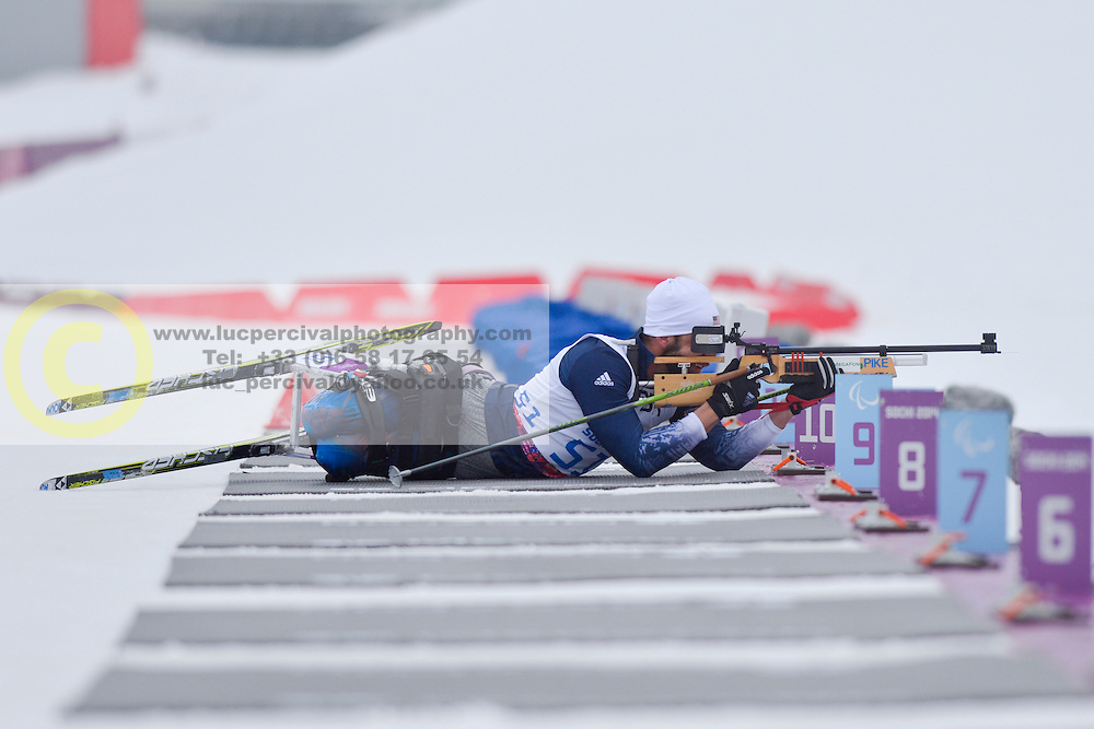 PIKE Aaron, Biathlon at the 2014 Sochi Winter Paralympic Games, Russia