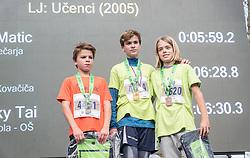 Children Run at Volkswagen 22nd Ljubljana Marathon 2017, on October 28, 2017 in Ljubljana, Slovenia. Photo by Damjan Koncar / Sportida