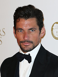 David Gandy arriving at the Collars & Coats Gala Ball in London, Thursday, 7th November 2013. Picture by Stephen Lock / i-Images