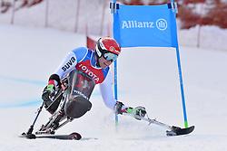 KUNZ Christoph LW10-1 SUI at 2018 World Para Alpine Skiing Cup, Kranjska Gora, Slovenia