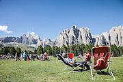 Trentino, punto panoramico Ciampedie Catinaccio