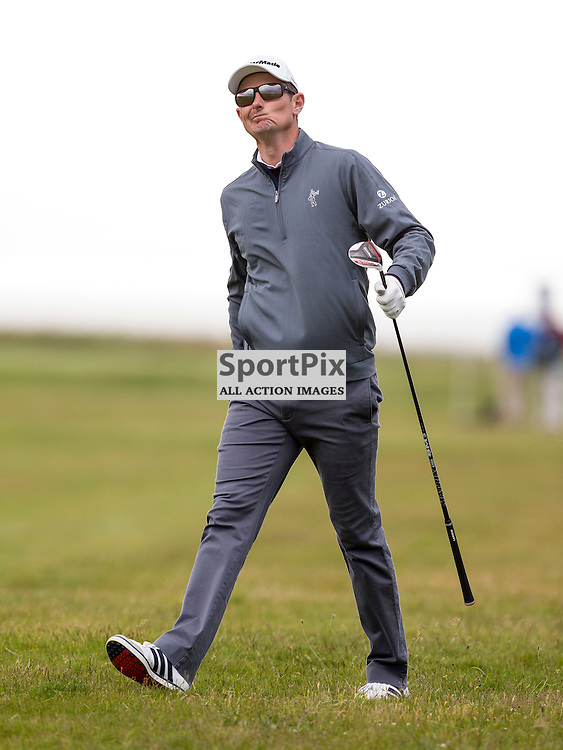 Aberdeen Asset Management Scottish Open 2015<br /> <br /> Justin Rose on the 16th during day 3 of the Aberdeen Asset Management Scottish Open played at Gullane Golf Course on 9-12 July 2015<br /> <br /> Picture: Alan Rennie