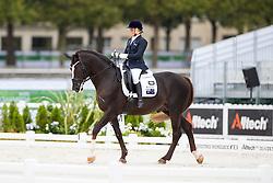 Joann Formosa, (AUS), Worldwide PB - Individual Test Grade Ib Para Dressage - Alltech FEI World Equestrian Games™ 2014 - Normandy, France.<br /> © Hippo Foto Team - Jon Stroud <br /> 25/06/14