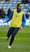 Queens Park Rangers midfielder Nasser El Khayati during the warm up before Sky Bet Championship match between Queens Park Rangers and Ipswich Town at the Loftus Road Stadium, London, England on 6 February 2016. Photo by Andy Walter.
