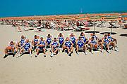 Nazionale a Roseto Degli Abruzzi 1996<br /> team