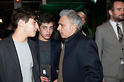 Carlo Kureishi ; Hanif Kureishi; Sachin  Kureishi  , GQ STYLE ÔMan UpÕ party that Dylan Jones and Paul Smith co-hosted. Kingsway. London. 24 March 2010<br /> Carlo Kureishi ; Hanif Kureishi; Sachin  Kureishi  , GQ STYLE 'Man Up' party that Dylan Jones and Paul Smith co-hosted. Kingsway. London. 24 March 2010
