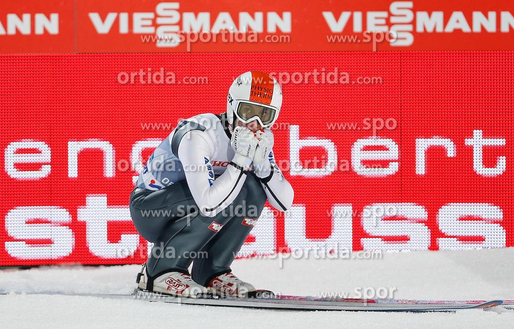 29.12.2013, Schattenbergschanze, Oberstdorf, GER, FIS Ski Sprung Weltcup, 62. Vierschanzentournee, Bewerb, im Bild Thomas Diethart (AUT) // Thomas Diethard of Austria during Competition of 62th Four Hills Tournament of FIS Ski Jumping World Cup at the Schattenbergschanze, Oberstdorf, Germany on 2013/12/29. EXPA Pictures © 2013, PhotoCredit: EXPA/ Peter Rinderer