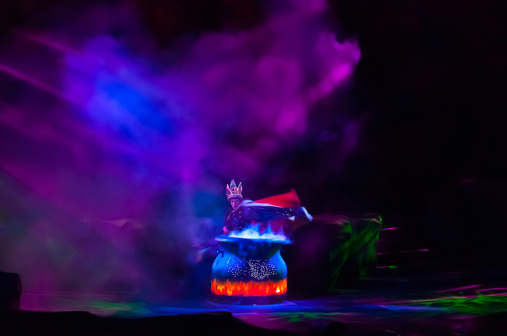 Fantasmic! fireworks and water show, Disney's Hollywood Studios, Walt Disney World, Orlando, Florida USA