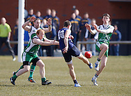 Picture from the Breat Britain Bulldogs v Irish Warriors match during the AFL Europe Easter Series at Surrey Sports Park, Guildford, UK on 6th April 2013. Photo by Andrew Tobin/Tobinators Ltd.