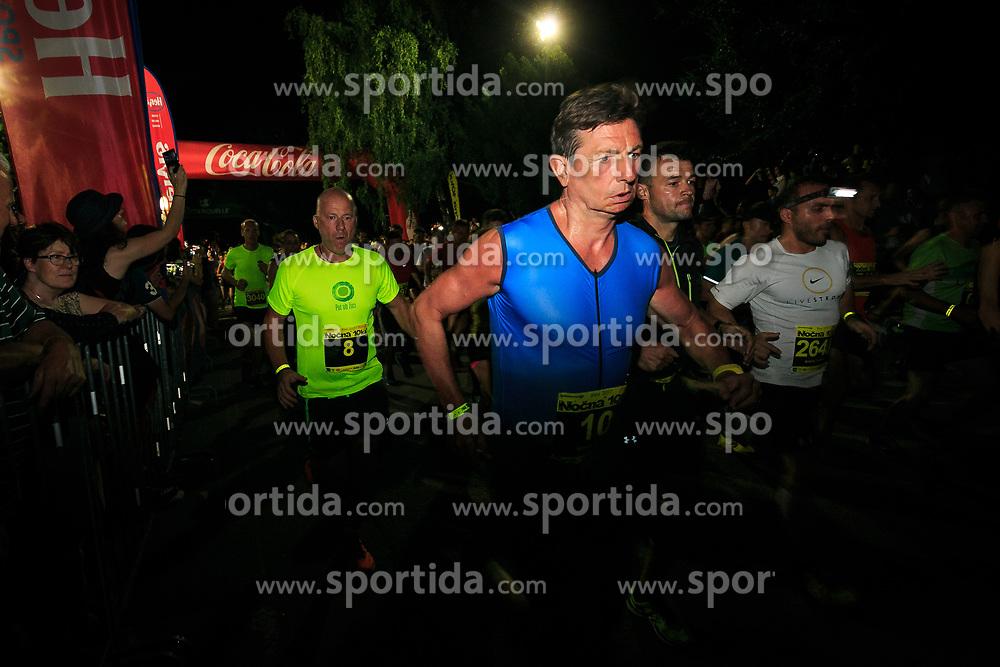 Borut Pahor president of Republic Slovenia 11th Nocna 10ka 2017, traditional run around Bled's lake, on July 08, 2017 in Bled,  Slovenia. Photo by Sandi Fiser/ Sportida