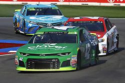 September 30, 2018 - Concord, North Carolina, United States of America - Kyle Larson (42) races during the Bank of America ROVAL 400 at Charlotte Motor Speedway in Concord, North Carolina. (Credit Image: © Chris Owens Asp Inc/ASP via ZUMA Wire)