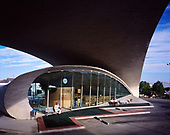 Bus Station in Casar de Cáceres, Spain by Justo García Rubio