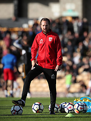 """West Bromwich Albion's Assistant Head Coach Ben Garner during the pre-season friendly match at Vale Park, Stoke. PRESS ASSOCIATION Photo. Picture date: Tuesday August 1, 2017. See PA story SOCCER Port Vale. Photo credit should read: Nick Potts/PA Wire. RESTRICTIONS: EDITORIAL USE ONLY No use with unauthorised audio, video, data, fixture lists, club/league logos or """"live"""" services. Online in-match use limited to 75 images, no video emulation. No use in betting, games or single club/league/player publications."""