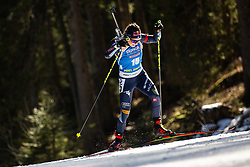 Dorothea Wierer (ITA) during the Women 15 km Individual Competition at day 2 of IBU Biathlon World Cup 2019/20 Pokljuka, on January 23, 2020 in Rudno polje, Pokljuka, Pokljuka, Slovenia. Photo by Peter Podobnik / Sportida
