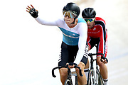 Campbell Stewart after competing in the Madison with Jordan Kerby during the 2019 Vantage Elite and U19 Track Cycling National Championships at the Avantidrome in Cambridge, New Zealand on Sunday, 10 February 2019. ( Mandatory Photo Credit: Dianne Manson )