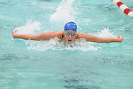 Oxford High's Grace Orman races in a meet at the Oxford Swimming Pool in Oxford, Miss. on Saturday, September 17, 2011.
