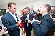 California Governor Arnold Schwarzenegger visiting Shanghai in 2010 / For Austria Expo Comission