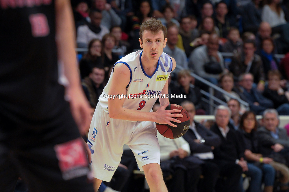 Nicolas Lang - 27.12.2014 - Paris Levallois / Nancy - 15eme journee de Pro A<br />