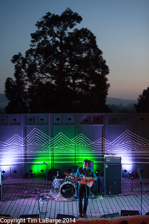 Dave Longstreth at Huichica Music Festival 2014 held at Gunlach Bundschu Winery in Sonoma, CA. Photo © Tim LaBarge 2014