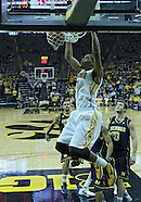 NCAA Men's Basketball - Michigan at Iowa - January 14, 2012