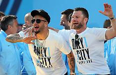 Manchester City Premier League Trophy Parade, 14 May 2018
