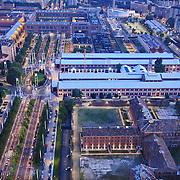 Veduta aerea delle OGR Torino, riqualificate e restituite alla città da Fondazione CRT, Un nuovo Distretto della Creatività e dell'Innovazione.