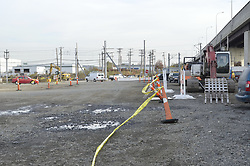 New Haven Rail Yard, Independent Wheel True Facility. CT-DOT Project # 0300-0139, New Haven CT. Progress Photograph of Construction Progress Photo Shoot 3 on 3 November 2011