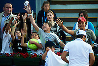 BARCELONA, SPAIN - APRIL 18: The ATP 500 World Tour Barcelona Open Banco Sabadell 2011 tennis tournament at the Real Club de Tenis on April 18, 2011 in Barcelona, Spain. (Photo by Manuel Queimadelos Alonso)