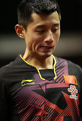 31.01.2016, Max Schmeling Halle, Berlin, GER, German Open 2016, im Bild Jike Zhang (CHN) // during the table Tennis 2016 German Open at the Max Schmeling Halle in Berlin, Germany on 2016/01/31. EXPA Pictures © 2016, PhotoCredit: EXPA/ Eibner-Pressefoto/ Wuest<br /> <br /> *****ATTENTION - OUT of GER*****
