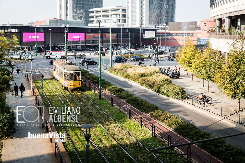 Emiliano Albensi<br /> 14/10/2017 Milano<br /> Nella foto: uno dei famosi tram di Milano<br /> <br /> Emiliano Albensi<br /> 14/10/2017 Milan<br /> In the picture: one of the famous tram of Milan