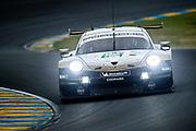 June 10-16, 2019: 24 hours of Le Mans. 92 PORSCHE GT TEAM, PORSCHE 911 RSR, Laurens VANTHOOR,  Kevin ESTRE, Michael CHRISTENSEN