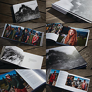 """PCT People Project - THE BOOK titled """"To Try The Mountain Passes"""".<br /> <br /> This """"coffee table"""" photo book is chock-full of Pacific Crest Trail hiker portraits and their stories. It's exquisitely printed on a matte archival paper to include a litho image wrapped hardcover and is 9 x 12 inches landscape size. The book includes 196 beautiful pages featuring 250+ hikers.<br /> <br /> Read more about this project here: https://theoutdoorevolution.com/explore-by-foot/2019/9/2/portraits-on-the-trail-qampa-with-the-creator-of-pct-people-project<br /> <br /> $59.95 + shipping"""