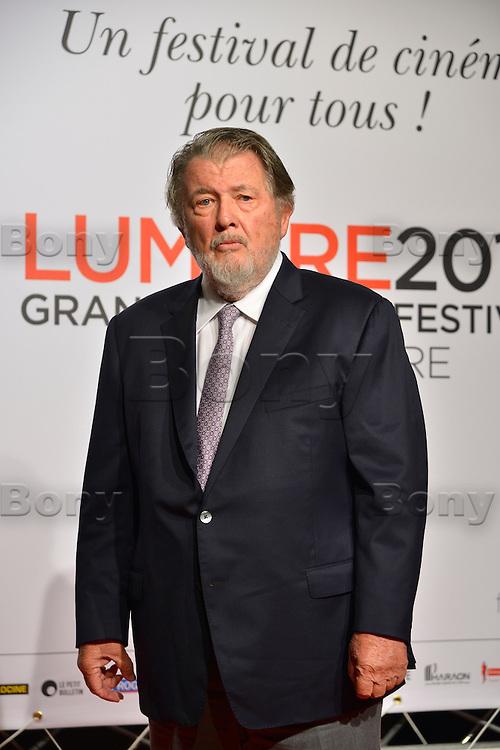 Walter Hill<br /> Lyon 8 oct 2016 - Festival Lumi&egrave;re 2016 - C&eacute;r&eacute;monie d&rsquo;Ouverture<br /> 8th Film Festival Lumiere In Lyon : Opening Ceremony