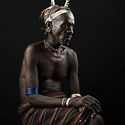 Portrait of Oeta Abi, a village elder.