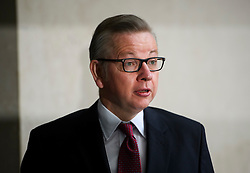 © London News Pictures. 19/06/2016. London, UK. MICHAEL GOVE MP arrives at BBC Broadcasting House in London to appear on the Andrew Marr Show. Photo credit: Ben Cawthra/LNP
