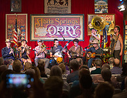 Tuba Skinny during the 100th performance of the Abita Springs Opry at Abita Springs Town Hall on September 21, 2019; photo ©2019, George H. Long