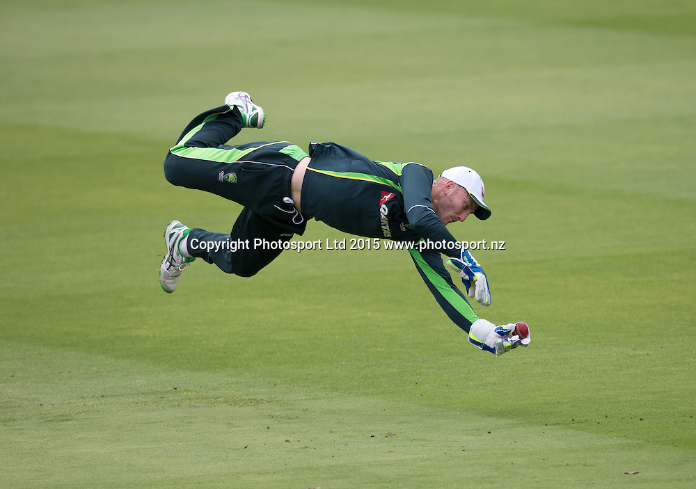 New wicket keeper, Peter Nevill, during net practice on the eve of the 2nd Investec Test Match between England and Australia at Lord's Cricket Ground, London. Photo: Graham Morris (Tel: +44(0)20 8969 4192 Email: sales@cricketpix.com) 14/07/15